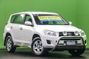 2010 Toyota RAV4 ACA33R MY09 CV White 4 Speed Automatic Wagon Ringwood East Maroondah Area Preview