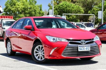 2016 Toyota Camry Red Sports Automatic Sedan St James Victoria Park Area Preview