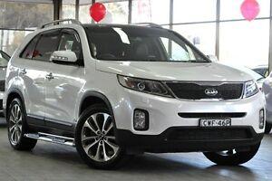 2014 Kia Sorento XM MY14 Platinum (4x4) White 6 Speed Automatic Wagon Roseville Ku-ring-gai Area Preview