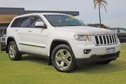 2013 Jeep Grand Cherokee WK MY2013 Laredo White 5 Speed Sports Automatic Wagon Pearsall Wanneroo Area Preview