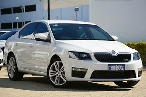 2014 Skoda Octavia NE MY14 White 6 Speed Sports Automatic Dual Clutch Liftback Victoria Park Victoria Park Area Preview