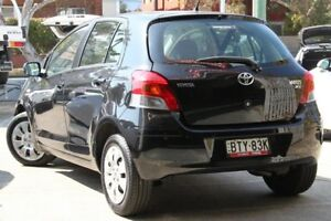 2009 Toyota Yaris NCP91R MY09 YRS Ink 4 Speed Automatic Hatchback