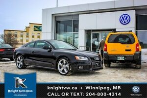 2012 Audi A5 Premium Plus Quattro AWD w/ S Line Pkg/Leather/Sun