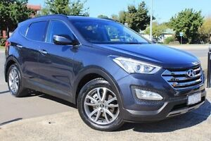 2012 Hyundai Santa Fe DM MY13 Elite Grey 6 Speed Sports Automatic Wagon Berwick Casey Area Preview