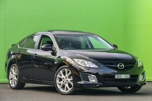 2008 Mazda 6 GH1051 Luxury Sports Black 5 Speed Sports Automatic Hatchback Ringwood East Maroondah Area Preview