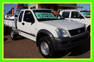 2006 Holden Rodeo RA MY06 LT Space Cab White 5 Speed Manual Utility Minchinbury Blacktown Area Preview