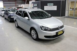 2011 Volkswagen Golf VI MY11 118TSI DSG Comfortline Silver 7 Speed Sports Automatic Dual Clutch Maryville Newcastle Area Preview