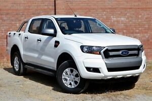 2016 Ford Ranger PX MkII XLS Double Cab Special Edition Cool White 6 Speed Sports Automatic Utility Woodbridge Swan Area Preview