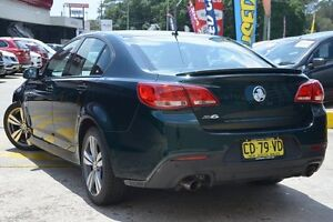 2014 Holden Commodore VF SV6 Green 6 Speed Automatic Sedan Wolli Creek Rockdale Area Preview