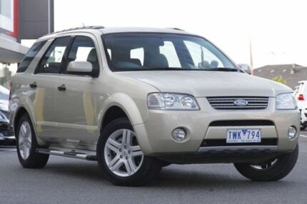 2006 Ford Territory SY Ghia Cashmere 4 Speed Auto Seq Sportshift Wagon Mill Park Whittlesea Area Preview