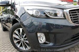 2016 Kia Carnival YP MY17 SLi Deep Blue 6 Speed Sports Automatic Wagon Watanobbi Wyong Area Preview