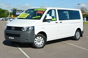 2011 Volkswagen Caravelle T5 MY11 LWB DSG White 7 Speed Sports Automatic Dual Clutch Wagon Broadmeadow Newcastle Area Preview
