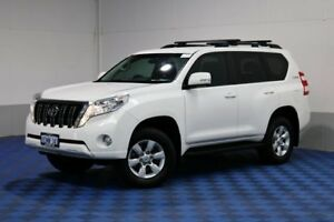 2014 Toyota Landcruiser Prado GRJ150R MY14 GXL (4x4) White 5 Speed Sequential Auto Wagon