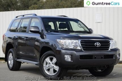 2012 Toyota Landcruiser VDJ200R MY12 Altitude Grey 6 Speed Sports Automatic Wagon Wangara Wanneroo Area Preview