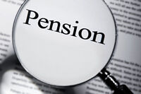 Lost your Job And Had a Pension?  Need Some Money