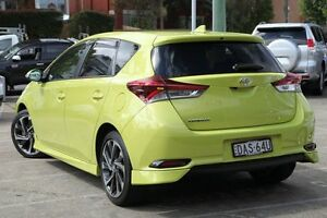 2015 Toyota Corolla ZRE182R MY15 SX Yellow 7 Speed CVT Auto Sequential Hatchback Mosman Mosman Area Preview