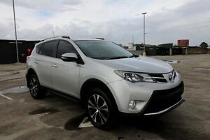 2014 Toyota RAV4 ASA44R MY14 Cruiser AWD Silver 6 Speed Sports Automatic Wagon Haymarket Inner Sydney Preview
