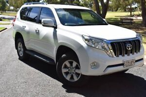 2017 Toyota Landcruiser Prado GDJ150R GXL White 6 Speed Sports Automatic Wagon St Marys Mitcham Area Preview