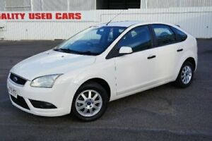 2008 Ford Focus LT CL White 5 Speed Manual Hatchback Woodridge Logan Area Preview
