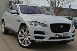 2016 Jaguar F-Pace X761 MY17 30d AWD Glacier White 8 Speed Sports Automatic Wagon Pearce Woden Valley Preview