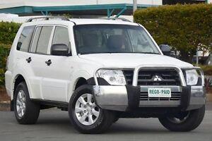 2010 Mitsubishi Pajero NT MY10 GLX White 5 Speed Sports Automatic Wagon Acacia Ridge Brisbane South West Preview