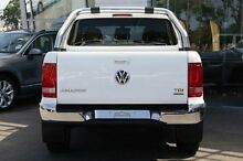 2015 Volkswagen Amarok 2HBC3A/16 TDI420 Highline (4x4) Candy White 8 Speed Automatic Dual Cab Utilit Gymea Sutherland Area Preview