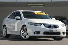 2012 Honda Accord 10 MY12 Euro Luxury White 5 Speed Automatic Sedan Arncliffe Rockdale Area Preview