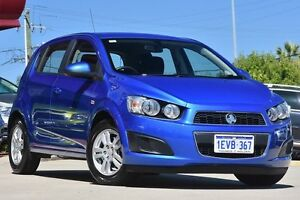 2012 Holden Barina TM CD Blue 5 Speed Manual Hatchback Victoria Park Victoria Park Area Preview