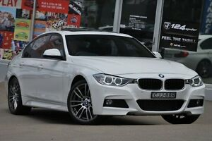 2012 BMW 328I F30 White 8 Speed Automatic Sedan Dee Why Manly Area Preview