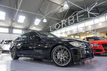 2008 BMW 320i E90 08 Upgrade Black 6 Speed Auto Steptronic Sedan