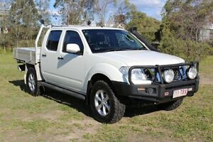 2013 Nissan Navara D40 S6 MY12 ST White 5 Speed Sports Automatic Utility Ormeau Gold Coast North Preview