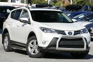 2012 Toyota RAV4 ALA49R Cruiser AWD White 6 Speed Sports Automatic Wagon Toowong Brisbane North West Preview