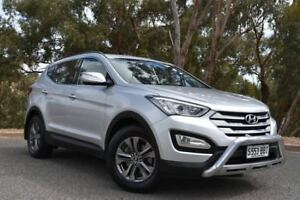 2012 Hyundai Santa Fe DM MY13 Active Silver 6 Speed Sports Automatic Wagon St Marys Mitcham Area Preview