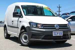 2017 Volkswagen Caddy 2KN MY17.5 TDI250 SWB DSG White 6 Speed Sports Automatic Dual Clutch Van Myaree Melville Area Preview