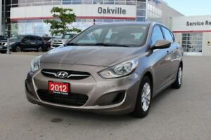 2012 Hyundai Accent GL w/ alloy wheels & power grp