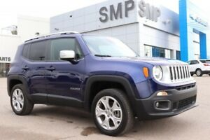 2018 Jeep Renegade Limited - Htd Leather, My Sky Sunroof, Nav