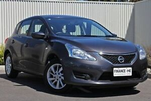 2014 Nissan Pulsar C12 ST Grey 1 Speed Constant Variable Hatchback Nailsworth Prospect Area Preview