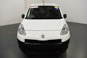 2013 Peugeot Partner B9P MY12 L1 Low Roof SWB White Manual Van Moorabbin Kingston Area Preview