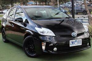 2013 Toyota Prius ZVW30R MY12 Black 1 Speed Constant Variable Liftback Berwick Casey Area Preview
