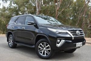 2016 Toyota Fortuner GUN156R Crusade Black 6 Speed Automatic Wagon St Marys Mitcham Area Preview