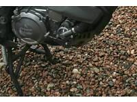 Yamaha tenere xt660z engine bars,pannier rack,alloy sump guard.