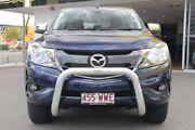 2016 Mazda BT-50 UR0YF1 XTR Blue 6 Speed Manual Utility Woolloongabba Brisbane South West Preview