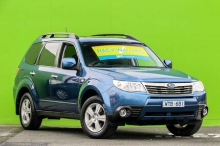 2008 Subaru Forester S3 MY09 XS AWD Premium Blue 4 Speed Sports Automatic Wagon Ringwood East Maroondah Area Preview