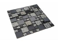 MOSAIC TILES ( VARIOUS DESIGNS ) Diamante, Interlocking, Hexagon