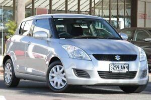 2012 Suzuki Swift FZ GL Star Silver 4 Speed Automatic Hatchback Christies Beach Morphett Vale Area Preview