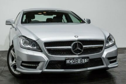 2013 Mercedes-Benz CLS250 CDI C218 MY13.5 Coupe 7G-Tronic + Silver 7 Speed Sports Automatic Sedan