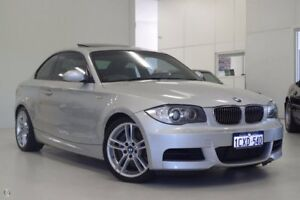 2008 BMW 135I E82 Sport Silver 6 Speed Manual Coupe Myaree Melville Area Preview