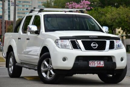 2012 Nissan Navara D40 S5 MY12 ST-X 550 White 7 Speed Auto Seq Sportshift Utility Windsor Brisbane North East Preview