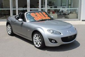 2010 Mazda MX-5 NC30F2 MY09 Roadster Coupe Silver 6 Speed Manual Hardtop Mount Gravatt Brisbane South East Preview