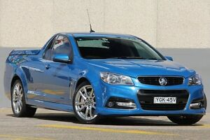 2013 Holden Ute VF SS-V Redline Blue 6 Speed Automatic Utility Wolli Creek Rockdale Area Preview